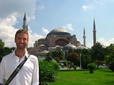 Mons living out a childhood dream at the Hagia Sophia